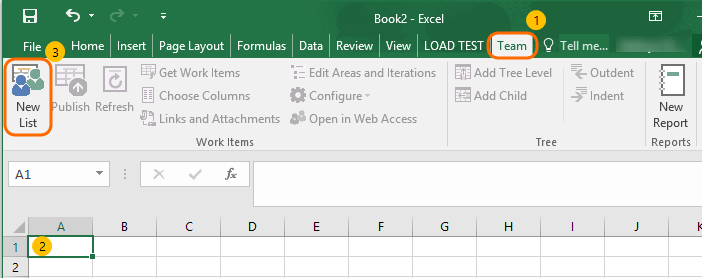 Work with VSTS (or TFS) Work Items from Excel without installing Team Explorer